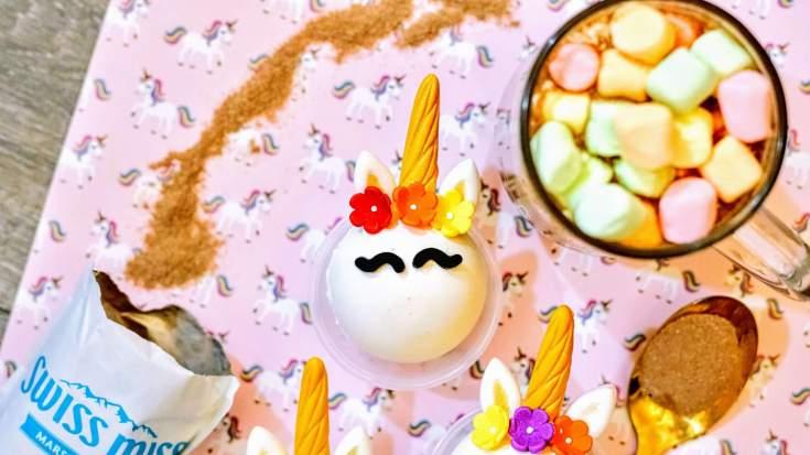 Unicorn Hot Chocolate Bombs