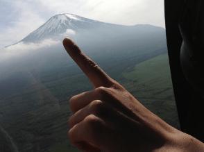 もえあず 富士山