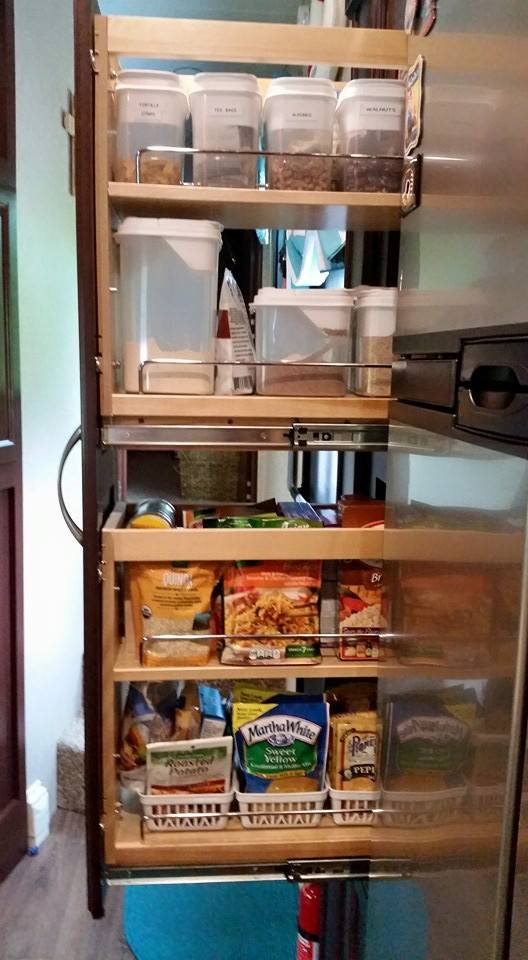 RV Interior Upgrades Cabinet Storage Solutions  Always