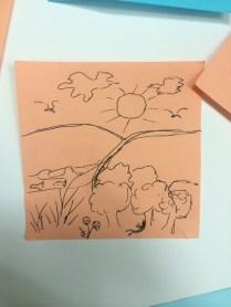 Drawing prayers