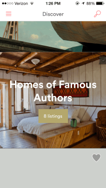 For this post, let's look at Homes of Famous Authors.