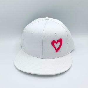 Energize Snapback - White & Pink