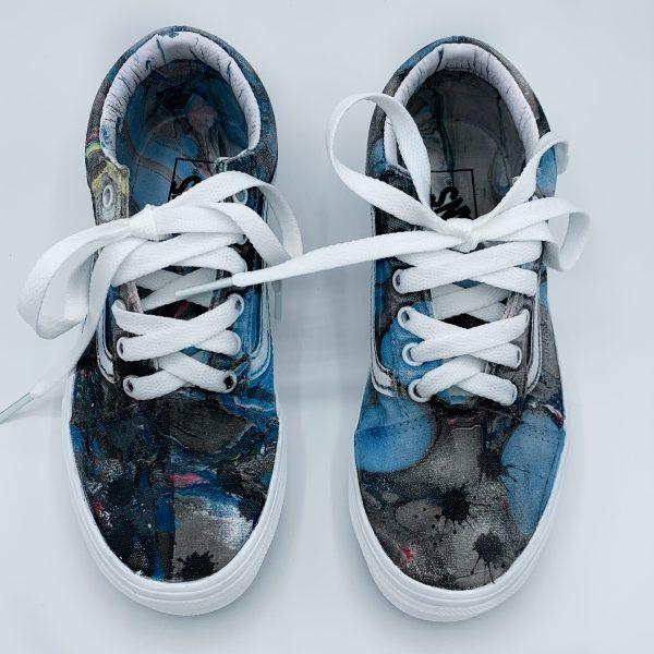 Custom Hydro Dip Shoes Vans Old Skool JUNIORS