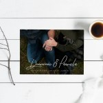 minimalistic save the date template