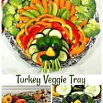 Turkey Veggie Tray Thanksgiving Vegetable Platter For The Holidays