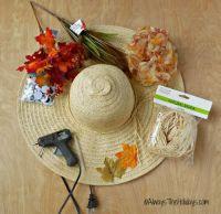 Scarecrow Wreath - DIY Scarecrow Wreath Tutorial using a ...