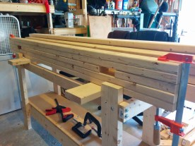 Starting the glue-up
