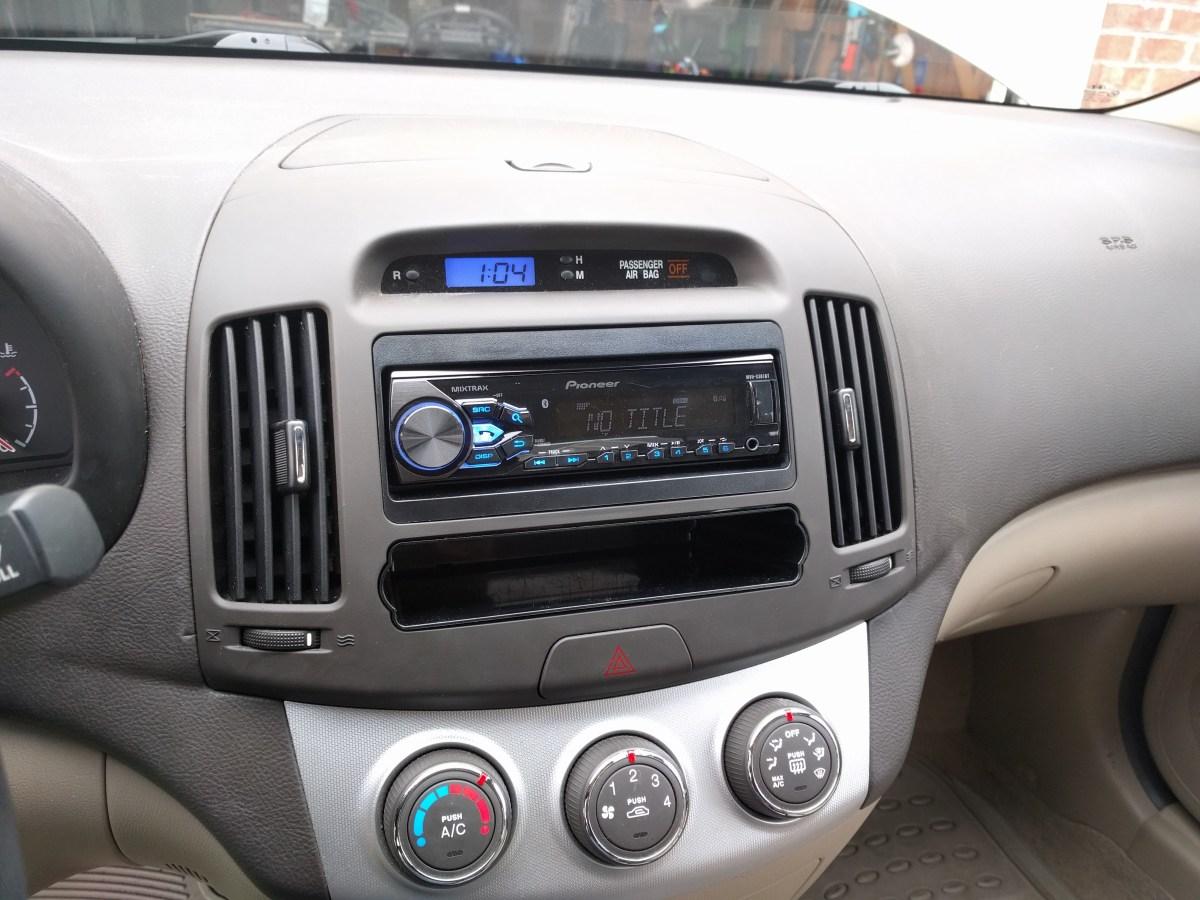 Hyundai Accent 2007 Radio Wiring Diagram