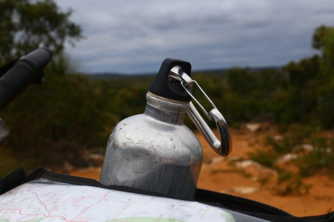 My trusty Sigg bottle; we've been through so much together.