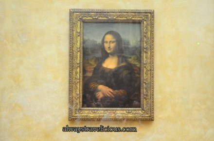 The Louvre @ Paris France 15, Mona Lisa