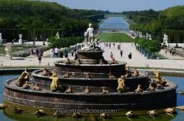 Fountain @ Chateau de Versailles @ outskirts of Paris, France 147