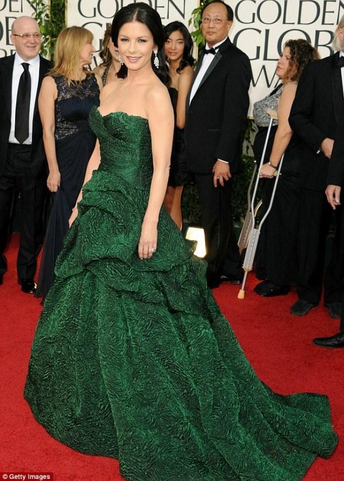 A2F Best Dressed: Catherine Zeta Jones in Monique Lhuiller