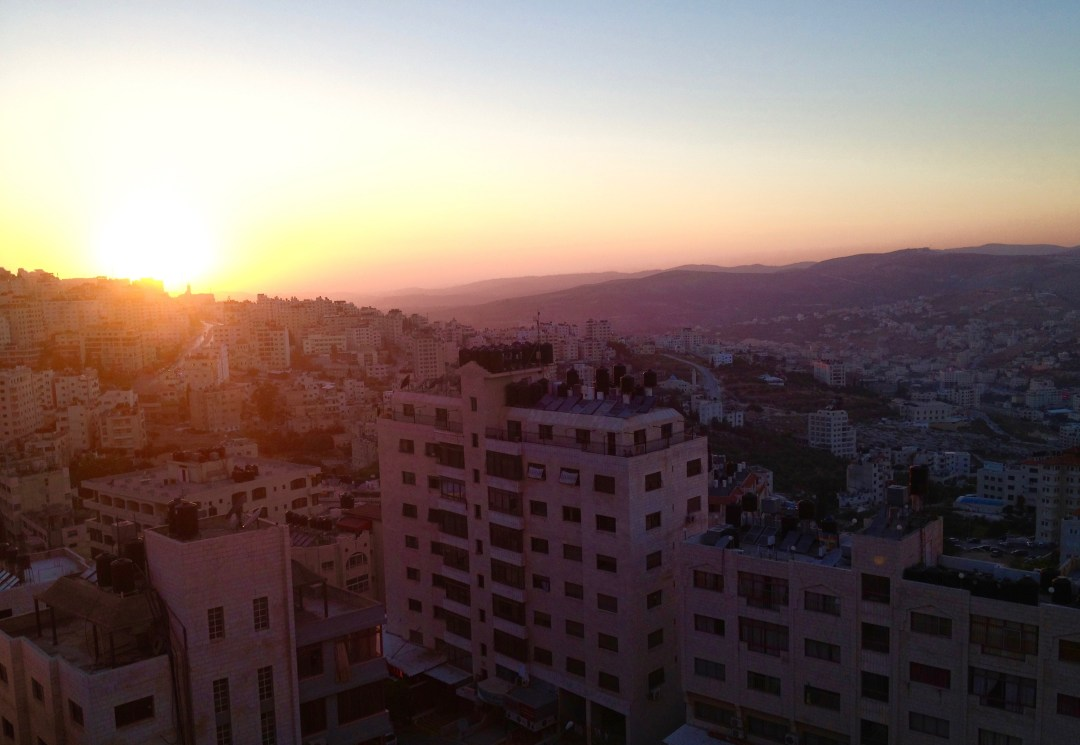 A2F Amman, Jordan sunrise