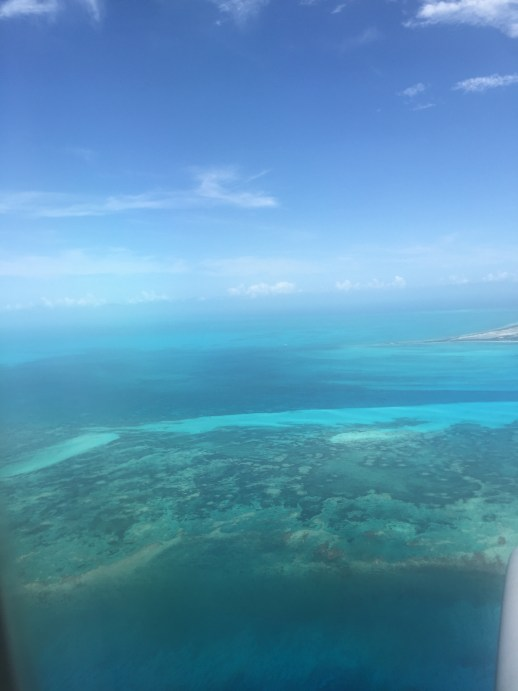 A2F Turks and Caicos airplane view