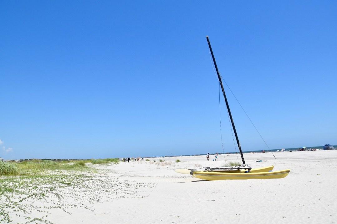 Sullivan's island boat
