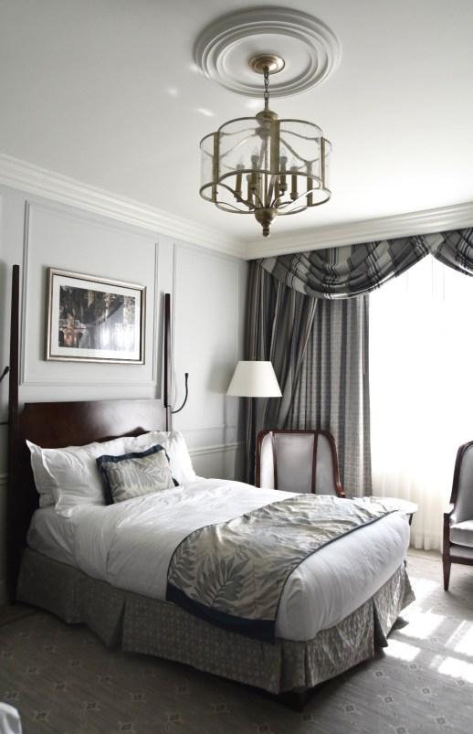 Charleston Place Hotel bedroom