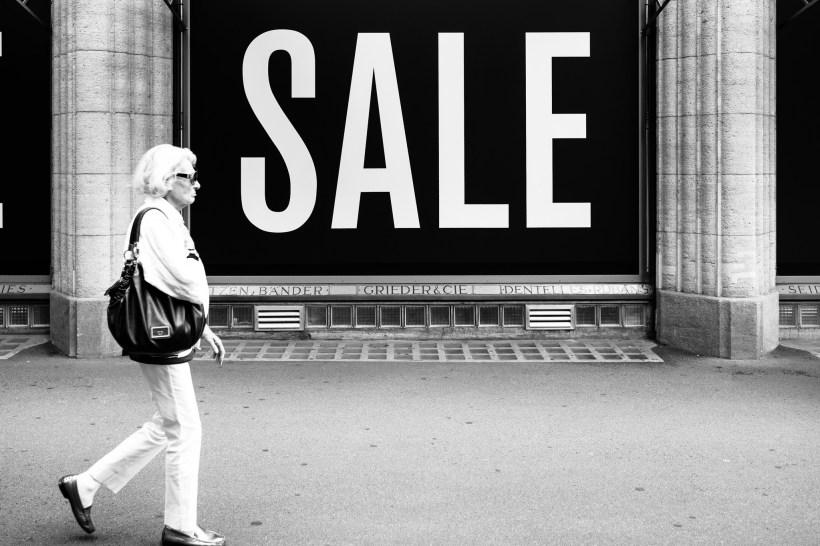 The Elusive Fashion Habits of INTJ Females: Part 2. INTJs love a sale.