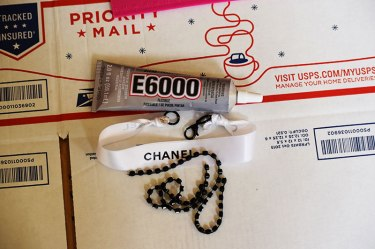 Chanel Ribbon Choker D-I-Y