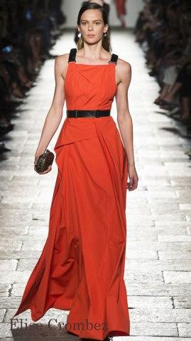 Model: Elise Crombez, Bottega Veneta Spring 2017 Ready-to-Wear, via Vogue.com