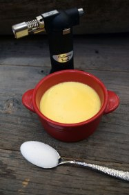 Crème Brûlée before topping with sugar. Photo Credit: I'mari Avey. Alwaysuttori.com