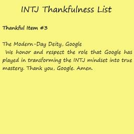 Introvert Life: The Thankful INTJ. Thankful3