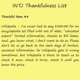 Introvert Life: The Thankful INTJ. Thankful-4