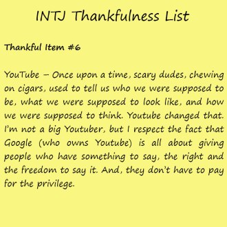 Introvert Life: The Thankful INTJ. Thankful-6