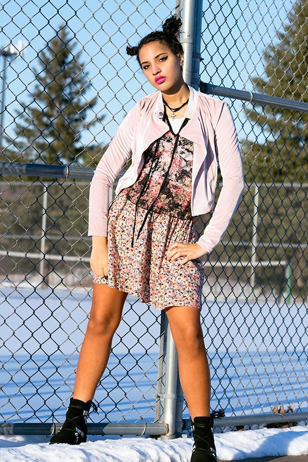 I'mari Avey, New Punk Style: Girly Punk, Photo 2. Photo Credit: Mechelle Avey.New Punk Style: Girly Punk. Alwaysuttori.com