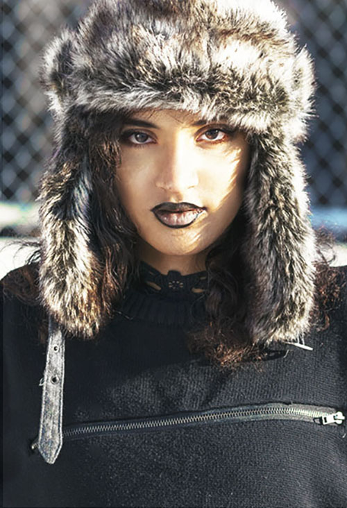 Spring Transition Fashion: Gothic Punk. Photo Credit: Mechelle Avey. Alwaysuttori.com