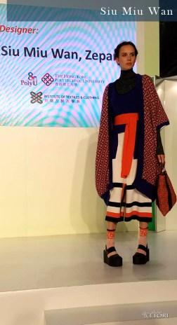 Siu Miu Wan, Look 2. Photo Credit: I'mari Avey. Global Fashion Outlook 2018. Alwaysuttori.com