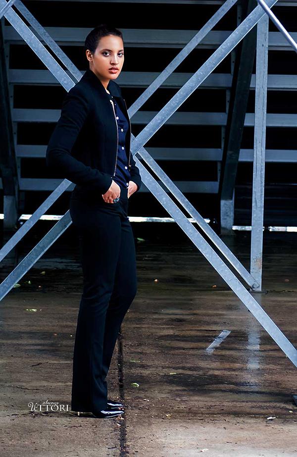 Girl Boss Fierce L2, P1. Photo Credit: Mechelle Avey. Spring Fashion 2017: Girl Boss Fierce, Look 2. Alwaysuttori.com