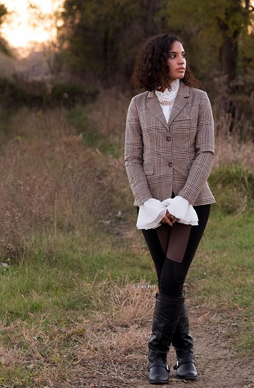 INTJ Fall Fashion Madam Equestrain. Credit: Mechelle Avey.