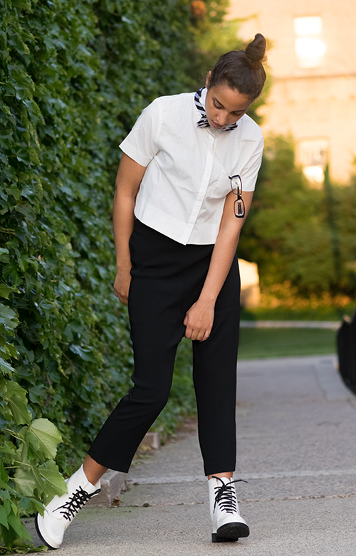 Back-to-school Look 3, P3. Photo Credit: Mechelle Avey. Slay The Books Looks Back to School Fashion 2017 Look 3. Alwaysuttori.com