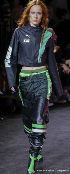 Fenty 9. Photo Credit: Luca Tombolini / indigital.tv via Vogue.com. Spring 2018 Athleisure Forecasts: Everything's Coming Up Fenty X Puma. Alwaysuttori.com