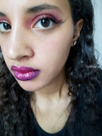 Ombre Lips. Photo Credit: Always Uttori. Mari Tries: Lazy INTJ Girl's guide to Halloween Makeup. A;waysuttori.com