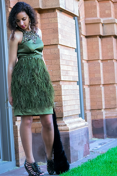 Feathers and Fur, P2. Photo Credit: Always Uttori. Ruffed and Ready Princess Fashion. Photo Credit: Alwaysuttori.com. In Royal Fashion | The Princess | Ruffed and Ready. Always Uttori.