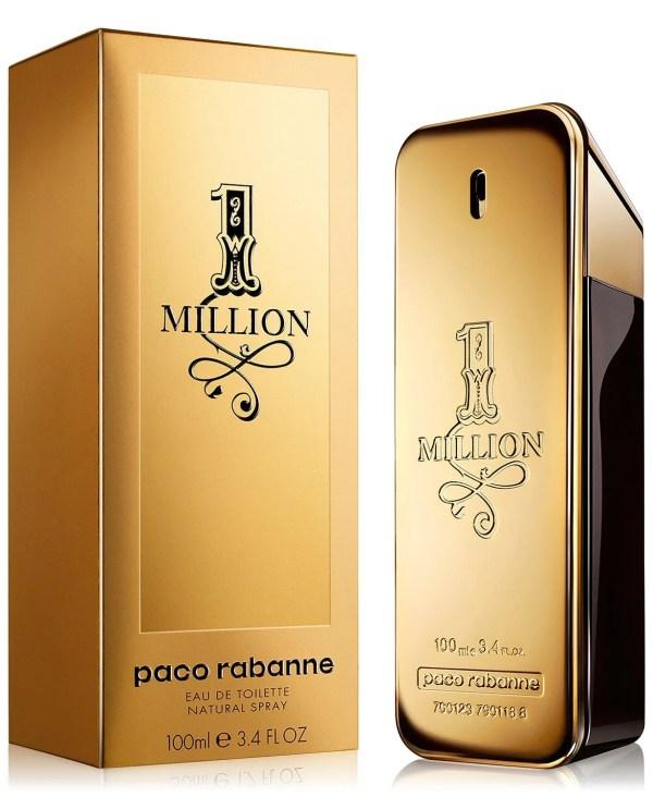Paco Rabanne Men's 1 Million Eau de Toilette Spray, 3.4 oz