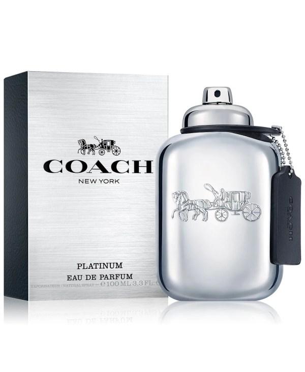 COACH Men's Platinum Eau de Parfum, 3.3-oz (M)