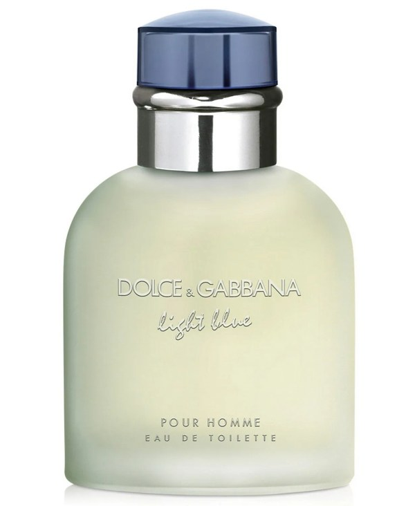 DOLCE&GABBANA Men's Light Blue Pour Homme Eau de Toilette Spray, 4.2 oz
