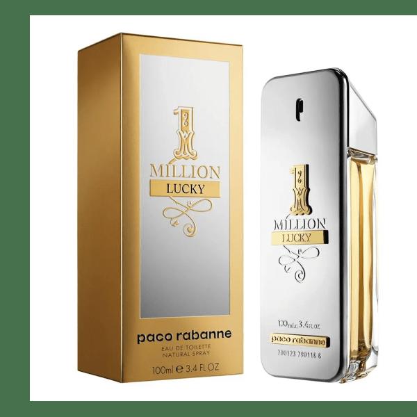 Paco Rabanne Men's 1 Million Lucky Eau de Toilette Spray, 3.4-oz