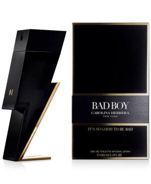 Carolina Herrera Men's Bad Boy Eau de Toilette Spray, 3.4-oz