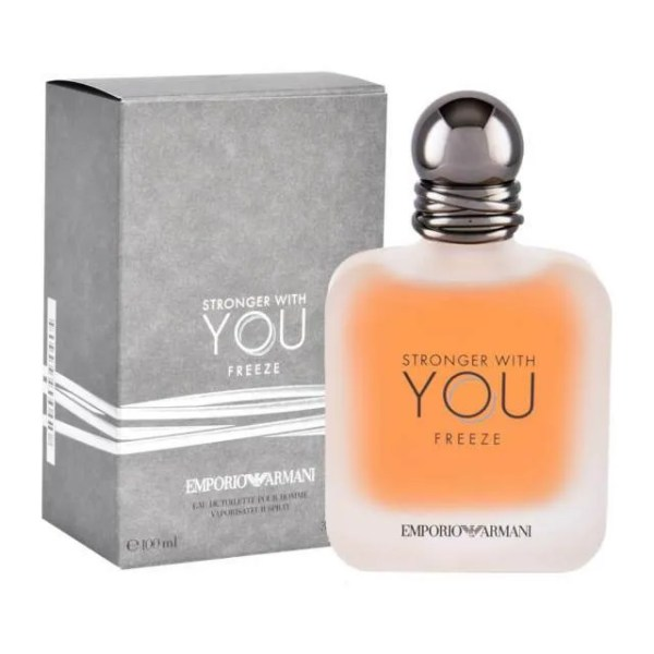 Giorgio Armani Emporio Stronger With You Freeze For Men EDT 3.4oz / 100ml