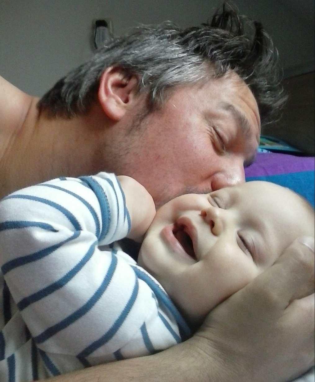 Vaderdag knuffel