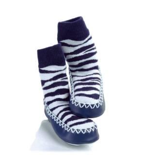moccons-soksloffen-zebra-strepen