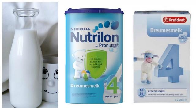 opvolgmelk of koemelk vanaf 1 jaar