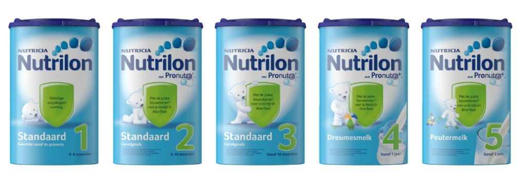 nutrilon 1 2 3 4 5 6