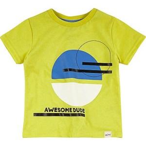 River Island mini-jongens shirt geel