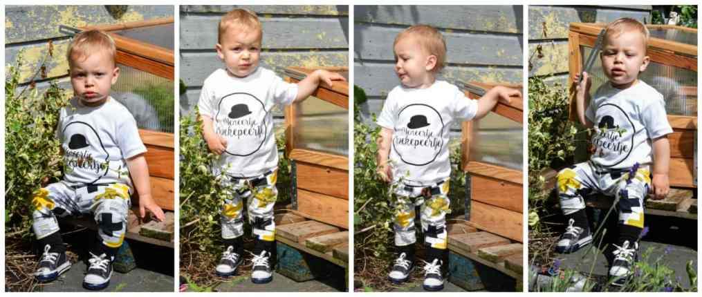 kleren maken de baby