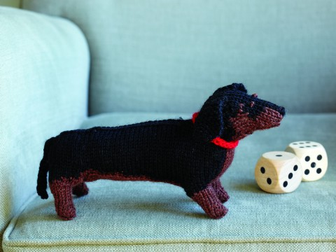 Knit Your Own Dog Kit Dachshund