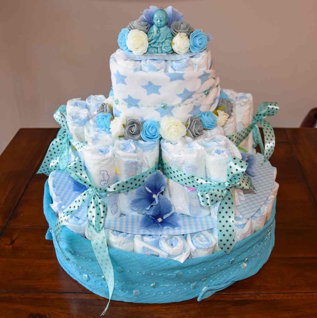 luiertaart diaper cake 16 star